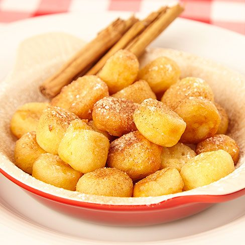 Buñuelos dulces de patata