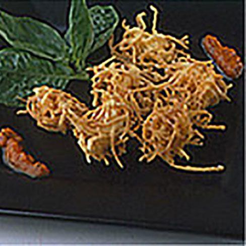 Tempura con patatas
